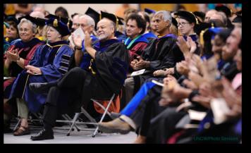 Buttino at Graduation