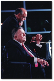 Pat Hingle with Lou
